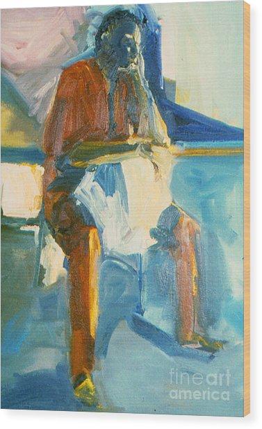 Ernie Wood Print