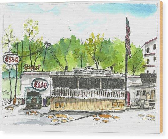 Esso Club Clemson Wood Print