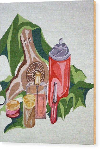 Everyday Items Wood Print by Tammera Malicki-Wong