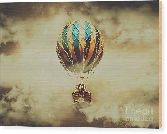Fantasy Flights Wood Print