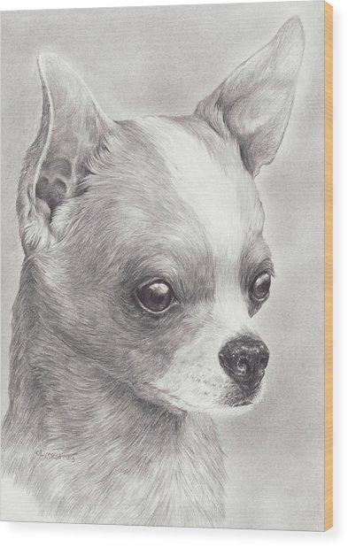 Fine Chihuahua Wood Print