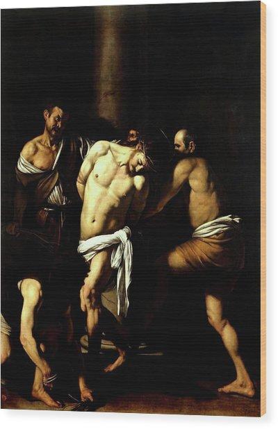 Flagellation Of Christ Wood Print