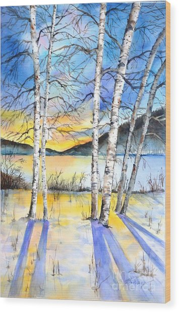 For Love Of Winter #5 Wood Print