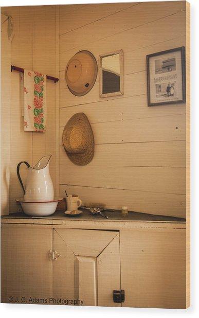 Fort Rock Museum Wood Print