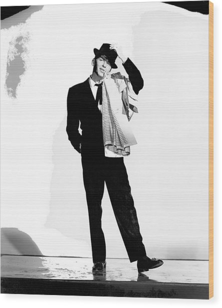 Frank Sinatra Pal Joey Set 1 1957-2015 Wood Print
