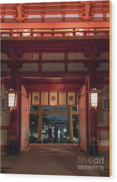 Fushimi Inari Taisha, Kyoto Japan Wood Print