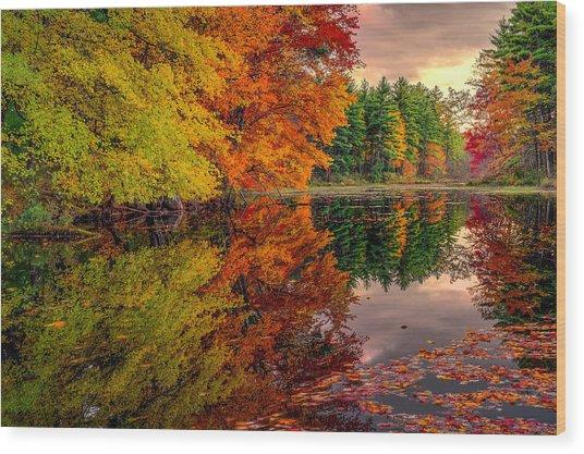 Gemini Fall Wood Print