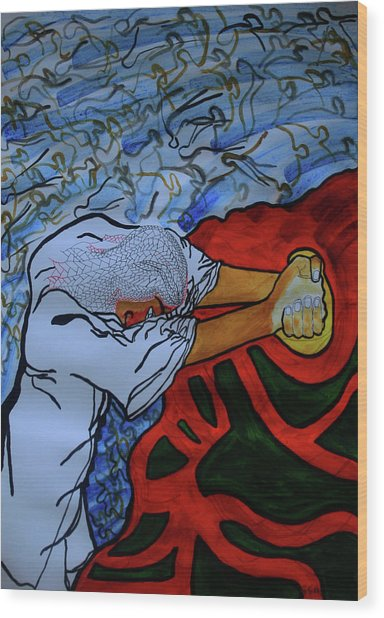Gethsemane Wood Print