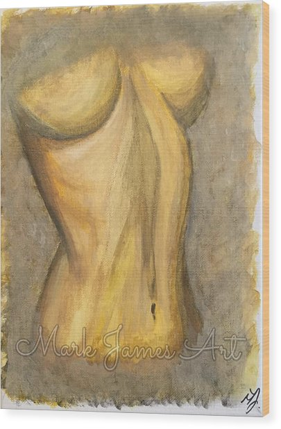 Gold Lust Wood Print by Mark James