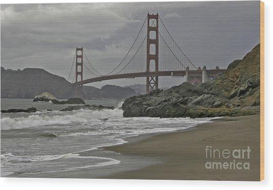 Golden Gate Study #1 Wood Print