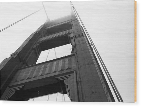 Golden Gate Tower 2 Wood Print