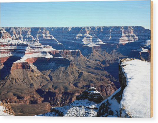 Grand Canyon Wood Print by Jennilyn Benedicto
