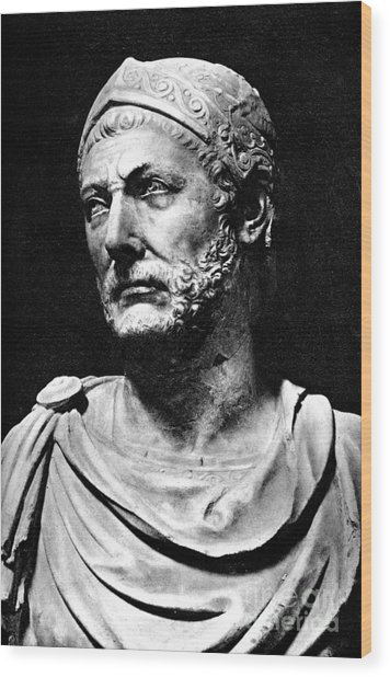 Hannibal, Carthaginian Military Wood Print