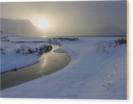 Haukland Beach, Lofoten Wood Print