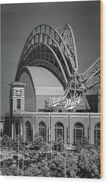 Home Of The Milwaukee Brewers Wood Print