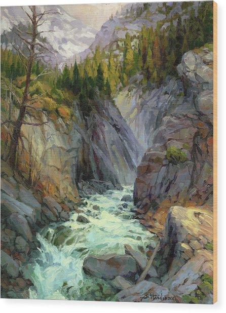 Hurricane River Wood Print