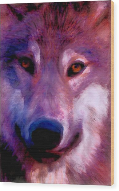 I Am Wolf Clan Wood Print