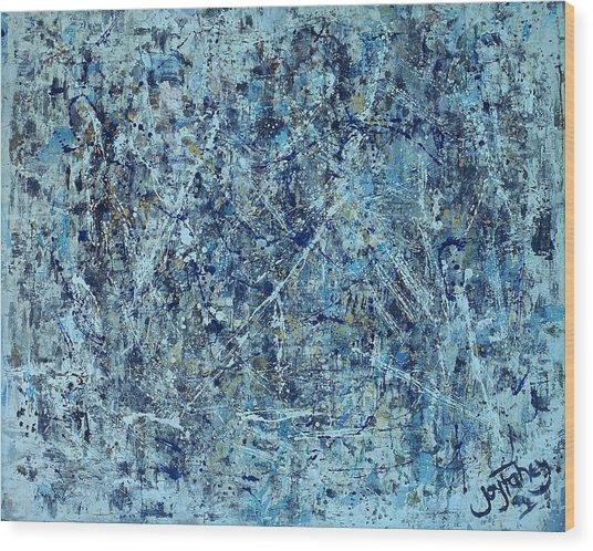 I Love Pollock Wood Print
