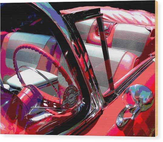 Impala Wood Print by Audrey Venute