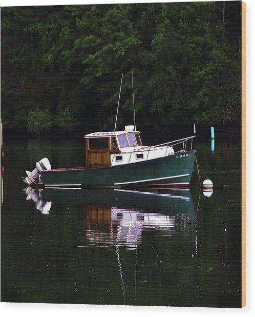 In The Cove Wood Print