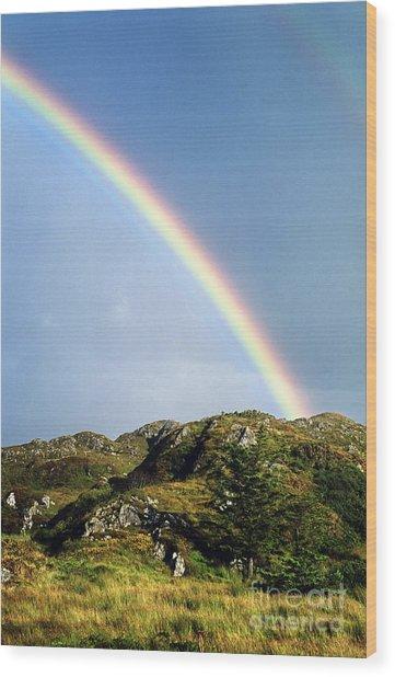 Irish Rainbow Wood Print