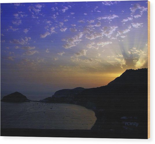 Ischia Awakens Wood Print