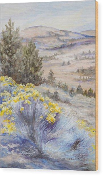 John Day Valley I Wood Print