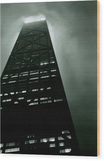 John Hancock Building - Chicago Illinois Wood Print