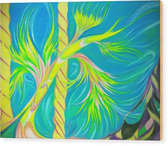 Joie De Vie Wood Print