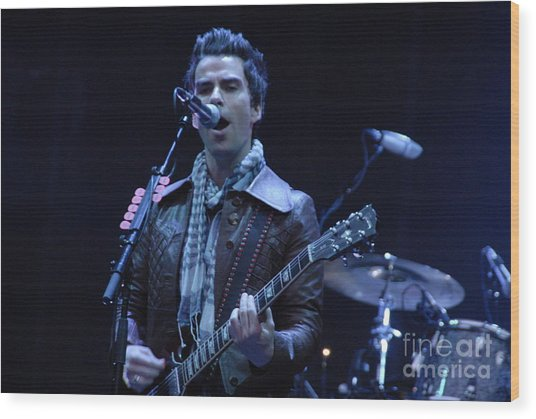 Kelly Jones Wood Print