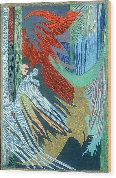 Kurunda Wood Print by Sandra Salo Deutchman