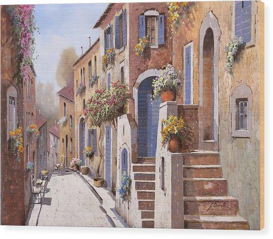 I Gradini Al Sole Wood Print