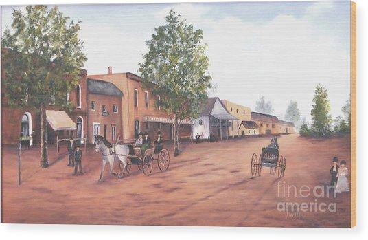 Laurens Street 1890 Wood Print