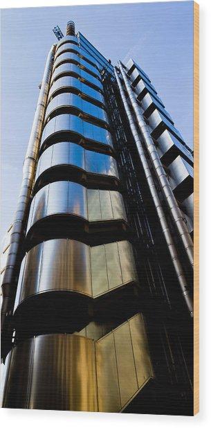 Lloyds Of London  Wood Print
