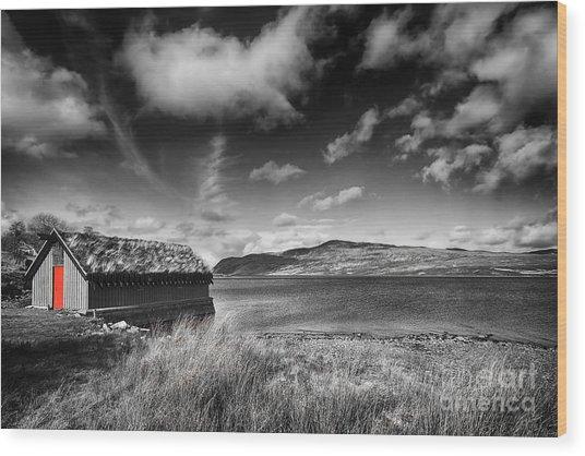 Loch Hope Wood Print
