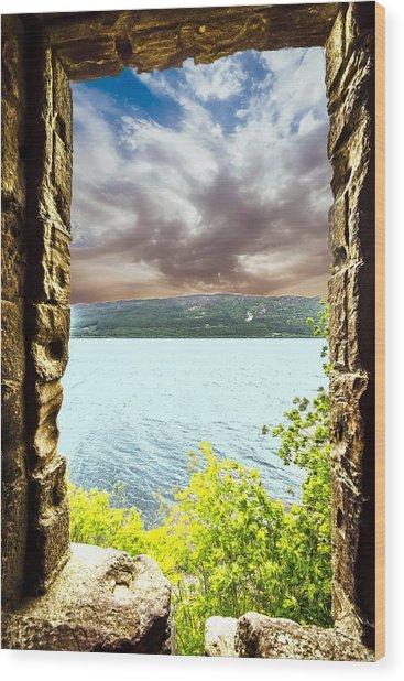 Loch Ness Wood Print