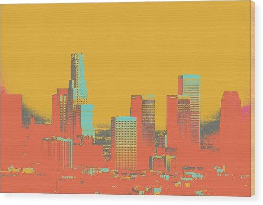 Los Angeles Wood Print by Shay Culligan