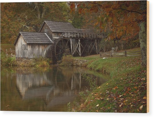 Mabry Mill Wood Print