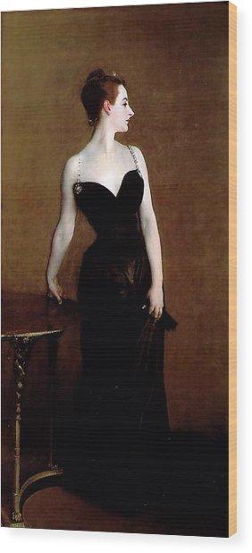 Madame X Wood Print