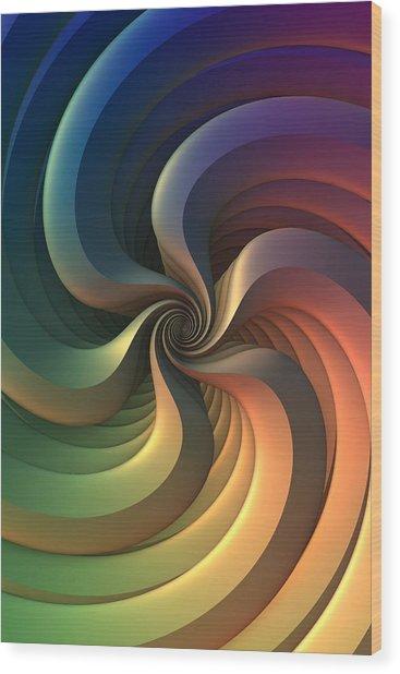 Maelstrom Wood Print