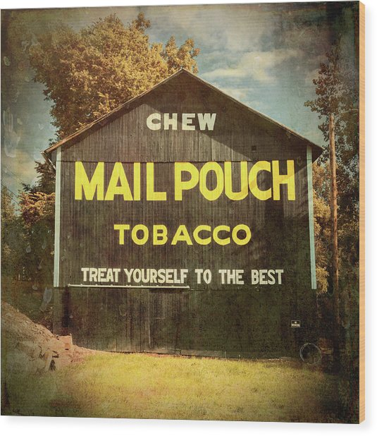Mail Pouch Barn - Oh 93 #4 Wood Print