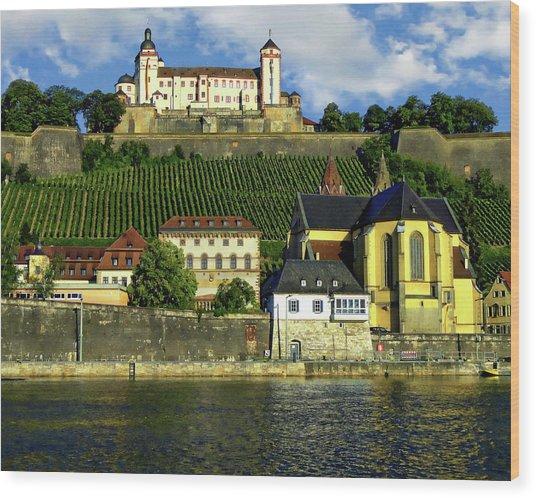 Marienberg Fortress Wood Print
