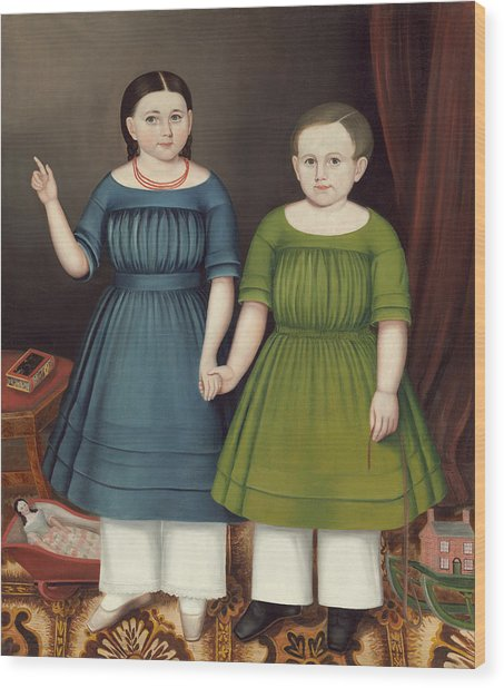 Mary And Francis Wilcox Wood Print