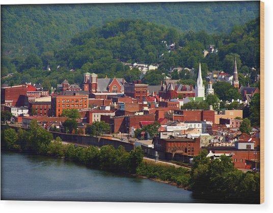 Maysville Kentucky Wood Print