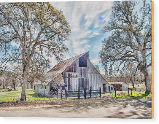 Mccourtney Barn Wood Print