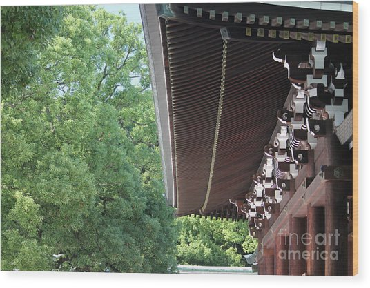 Meiji Shrine Wood Print