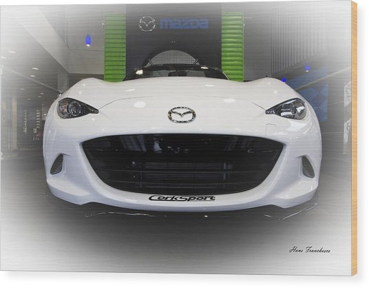 Miata Signed Wood Print