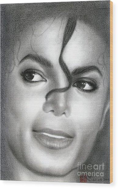 Michael Jackson #eight Wood Print