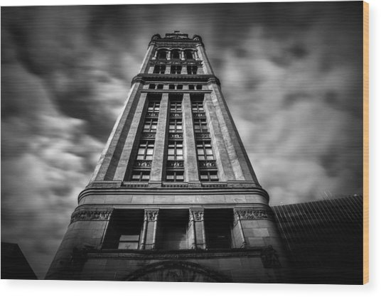 Milwaukee's City Hall Wood Print