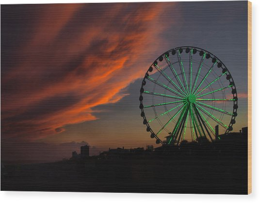 Myrtle Beach Wood Print